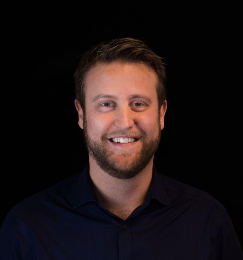 Portretfoto van Daan de Boer.