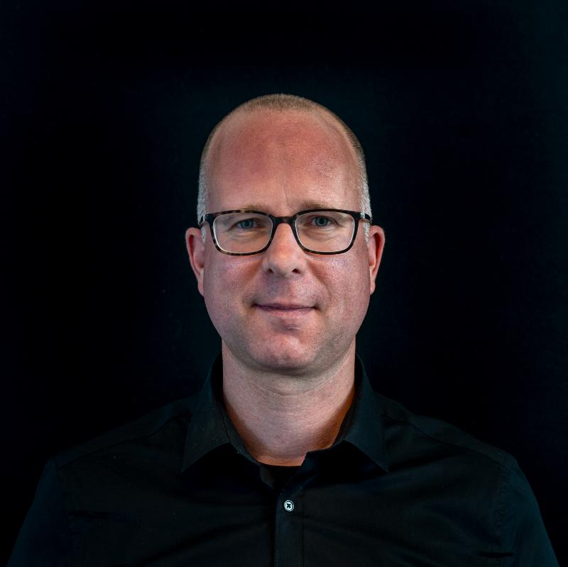 Portretfoto van operationeel manager Simon Meerveld..
