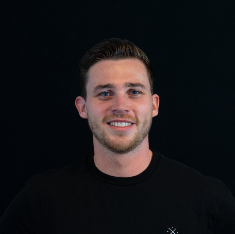Portretfoto van klantmanager Stijn Mostert.